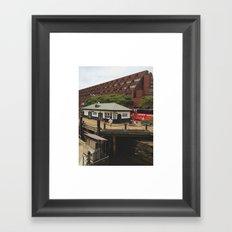 Claw & Cone Framed Art Print