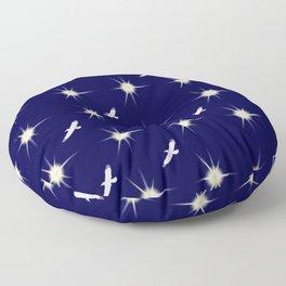 Départ vers les étoiles... Floor Pillow