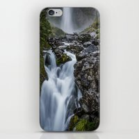 waterfall iPhone & iPod Skins featuring Waterfall. by Michelle McConnell
