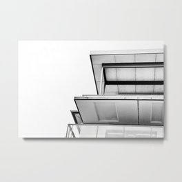 Hooked On The Corners Metal Print