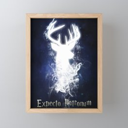 Expecto Patronum Framed Mini Art Print