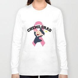Breast Cancer Awareness Art For Warrior Women Light Long Sleeve T-shirt