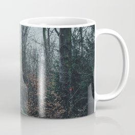 Fallen And Broken Trees After Storm Victoria February 2020 Möhne Forest 8 dark Coffee Mug