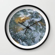 Planetary Bodies - Splash Wall Clock