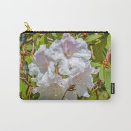 The Lost Gardens of Heligan - White Rhododendron Carry-All Pouch