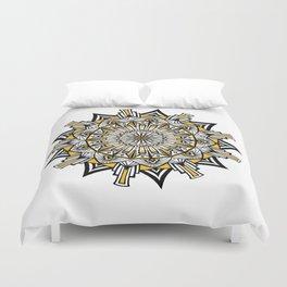 Art Deco Mandala Duvet Cover