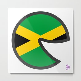Jamaica Smile Metal Print