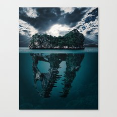 Mystere island Canvas Print