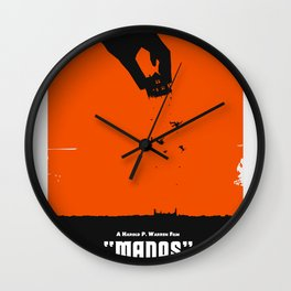 Manos: The Hands of Fate Wall Clock