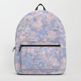 Light pink and blue popcorn 4647 Backpack