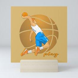 Basketball Player Mini Art Print