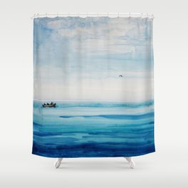 The fishermen Shower Curtain