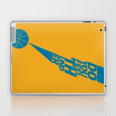 Do You Feel the Thunder? (Orange) Laptop & iPad Skin