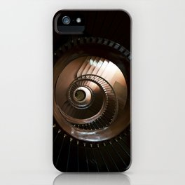 Chocolate stairs iPhone Case