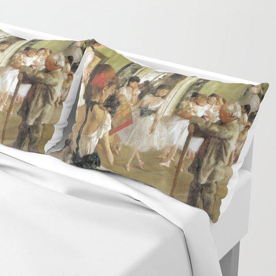 Edgar Degas The Dance Class by vintageartstore
