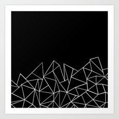 Ab Peaks Art Print