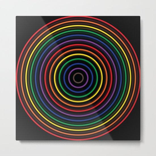Colorful circle Metal Print