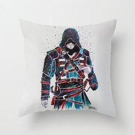 Edward Kenway Throw Pillow