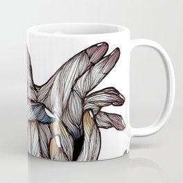 Tangled Hands Illustration Coffee Mug