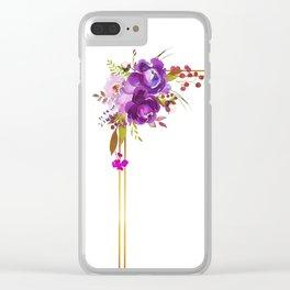 fem feel Clear iPhone Case