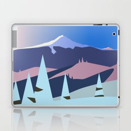 Mount Hood Wintersun Laptop & iPad Skin