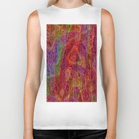 bands Biker Tanks featuring Bands II by RingWaveArt
