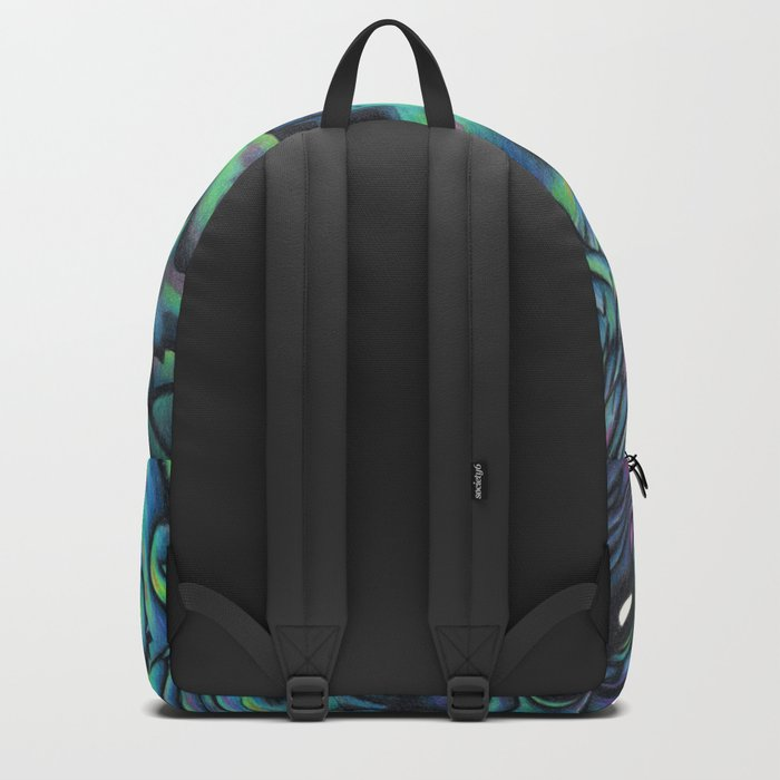 The Showstopper - NZ Paua Backpack