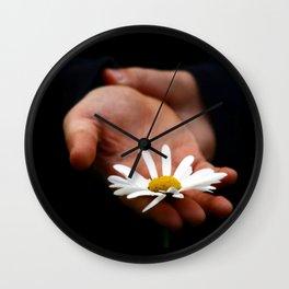 Daisy for you Wall Clock