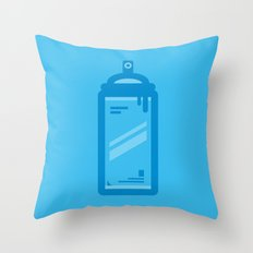 Tools of The Trade Series - Spray Can Throw Pillow