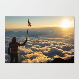 Mt. Fuji.  Canvas Print