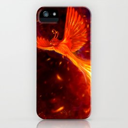 Immortal Flames iPhone Case