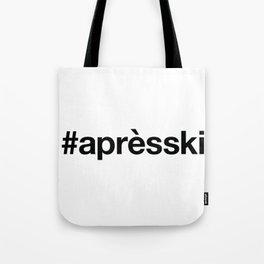 APRES-SKI Tote Bag