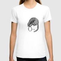 otter T-shirts featuring Otter by zuzia turek