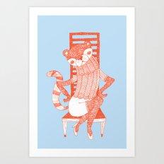 BEAR-CAT Art Print