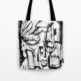 Drained - b&w Tote Bag