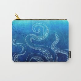 Octopus Tentacles Watercolor Carry-All Pouch