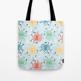 Nerdy Octopuses Tote Bag