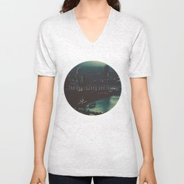The Day Is Long And Lovely Unisex V-Neck