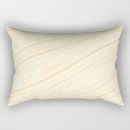 Basswood Surface Texture Rectangular Pillow