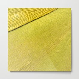 field of gold Metal Print