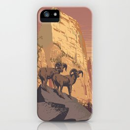 Zion National Park Dawn iPhone Case