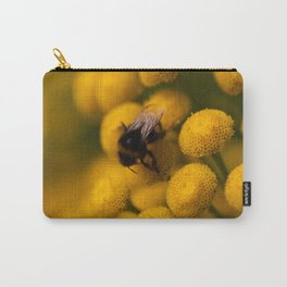 Bumbling Yellow Carry-All Pouch