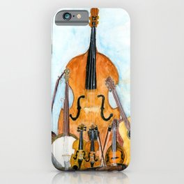 Old Time String Band iPhone Case