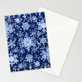 Snowflakes #3 Stationery Cards