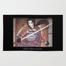 Kagetora (Dragon Lord of Echigo) Rug