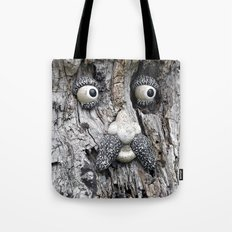 Tree Face Tote Bag