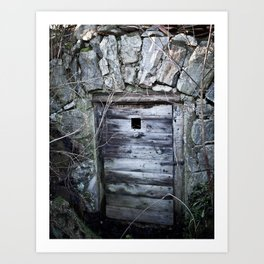 Cellar Door Art Print