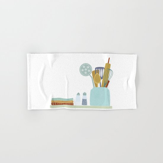 The Kitchen Shelf Hand & Bath Towel