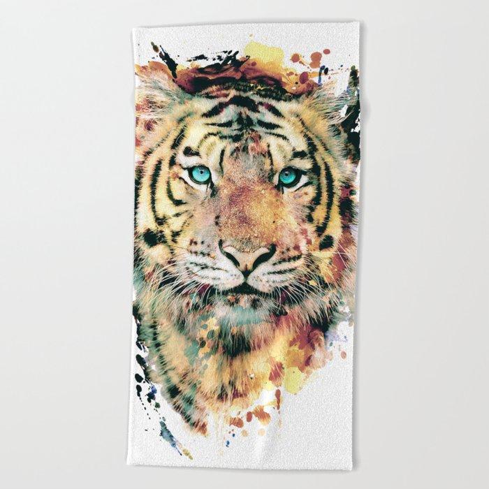 Tiger III Beach Towel