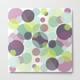Candy Dots Metal Print